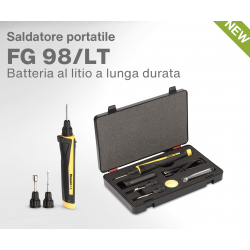 Battery powered soldering iron